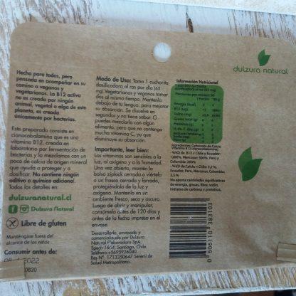 Reveés del sobre de Vitamina B12, Toda la información está en la descripción del producto