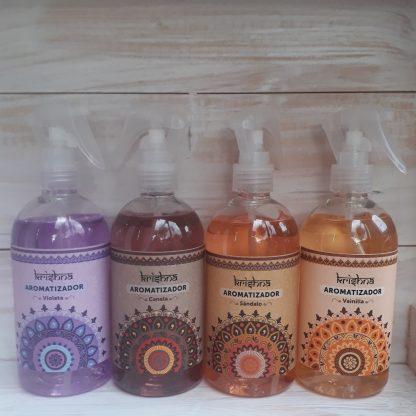 Aromatizadores con gatillo spray de variados aromas