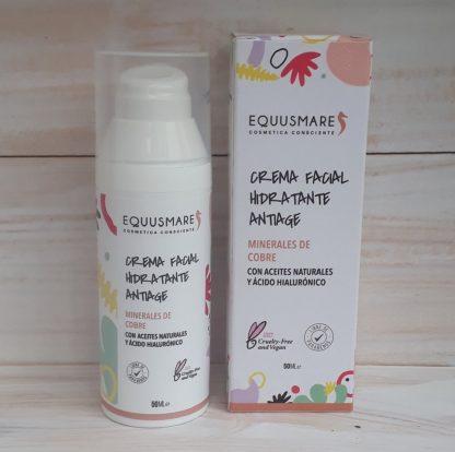 Envase con dosificador de la crema facial antiage