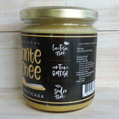 Mantequilla ghee- sellos lactosa free