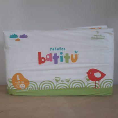 Envase de pañales Batitu L